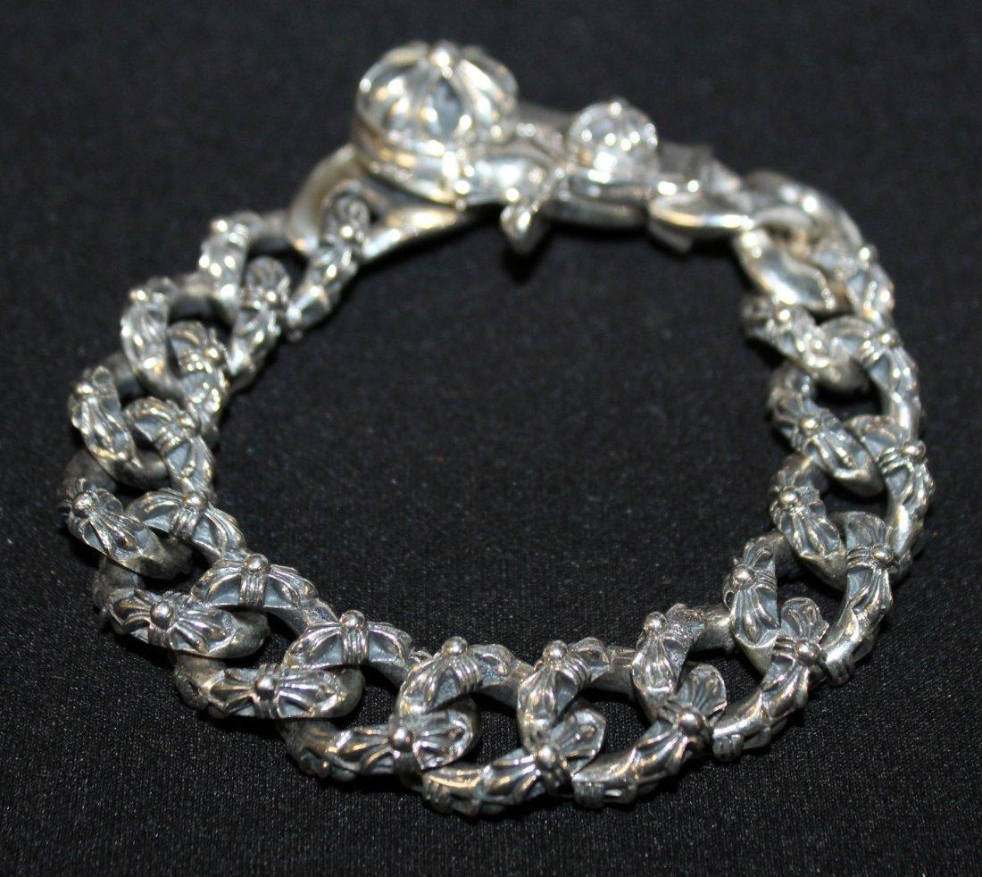 Chrome Hearts men's sterling silver bracelet - 3