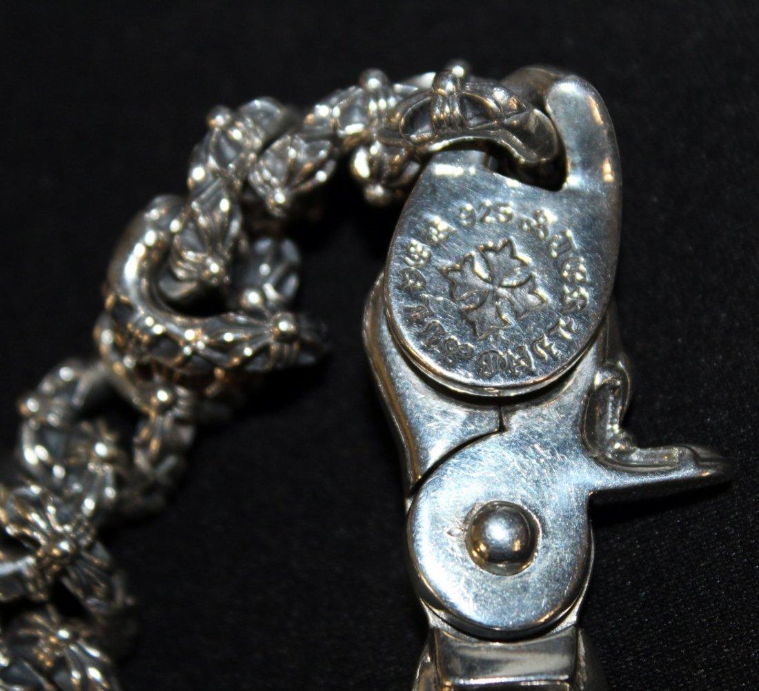 Chrome Hearts men's sterling silver bracelet - 4