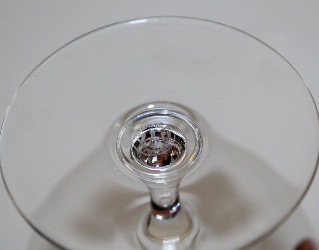 Pair of Baccarat crystal brandy snifters - 2