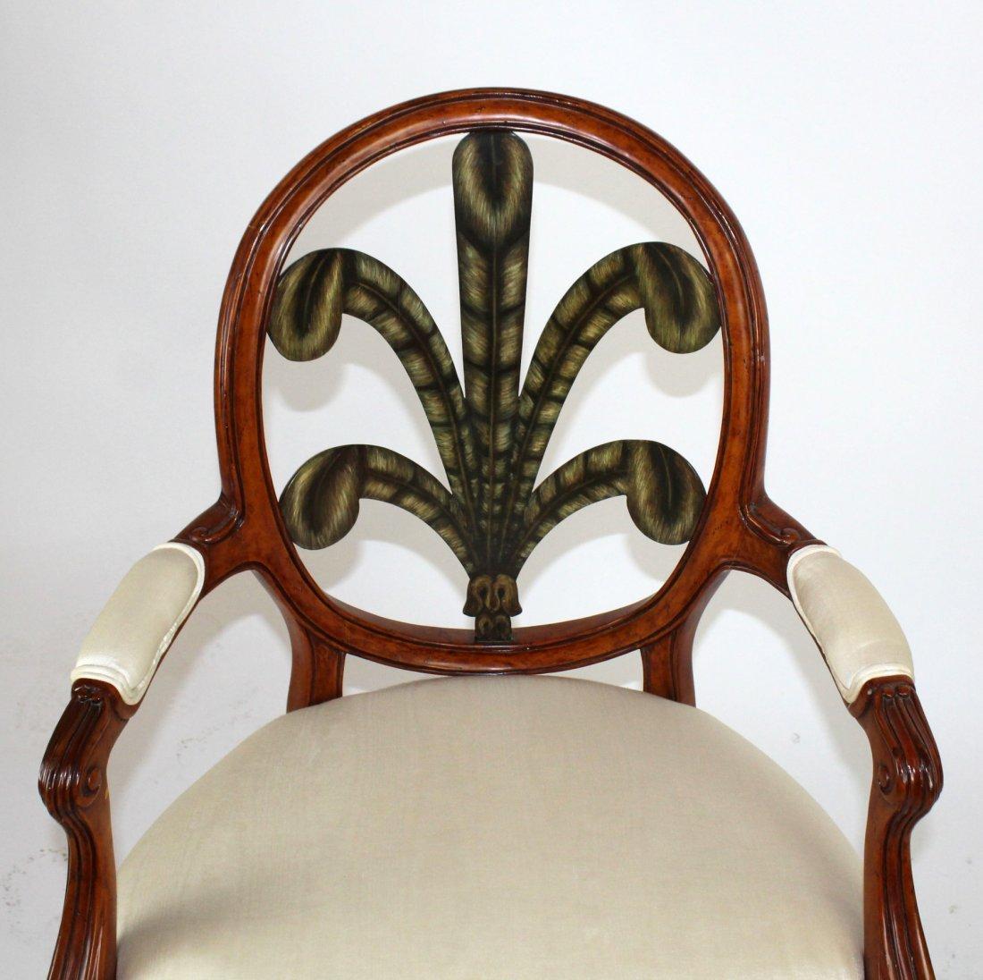 Foliate back armchair - 2