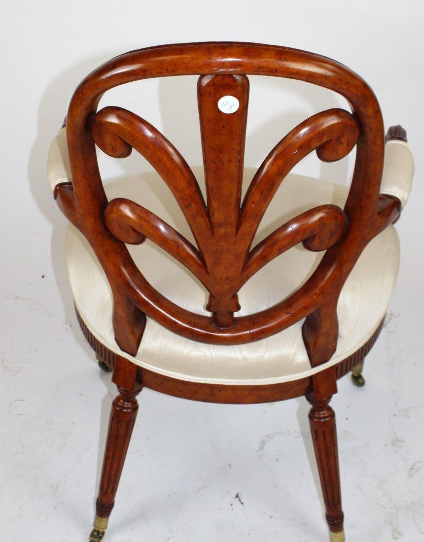 Foliate back armchair - 3