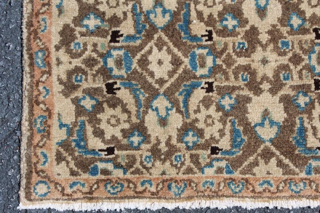 "2'6"" x 14'1"" Persian wool Hamedan carpet - 4"