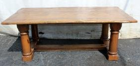 Ralph Lauren Polo rustic style table