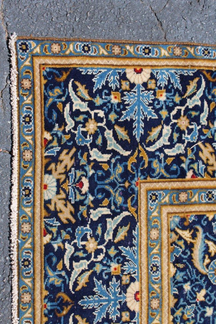 Persian wool Isfahan carpet - 2