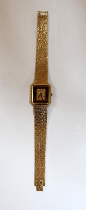 Gold ladies Piaget watch