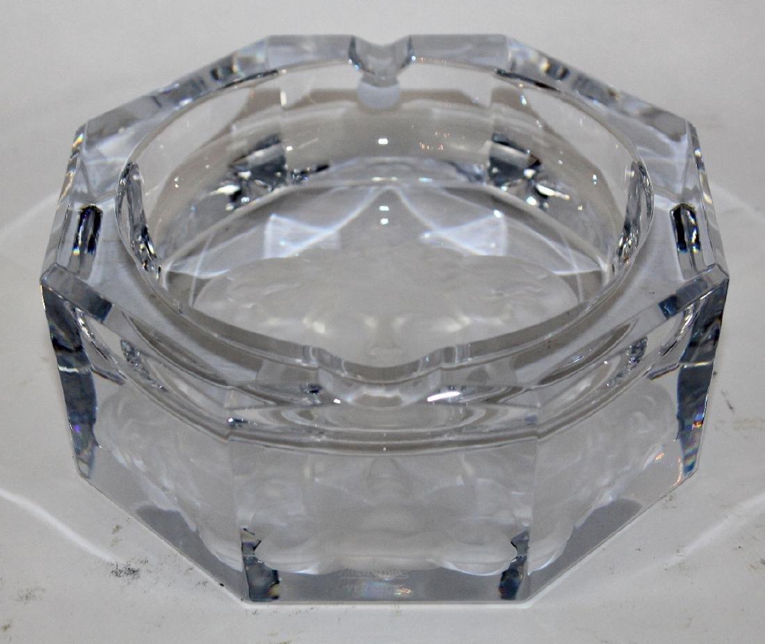 Rosenthal crystal Versace ashtray