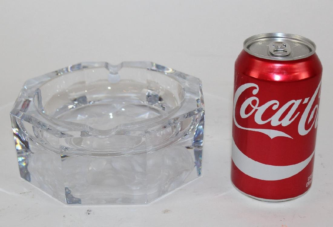 Rosenthal crystal Versace ashtray - 2