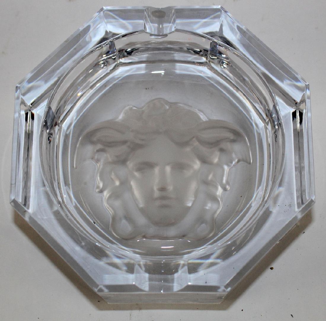 Rosenthal crystal Versace ashtray - 3