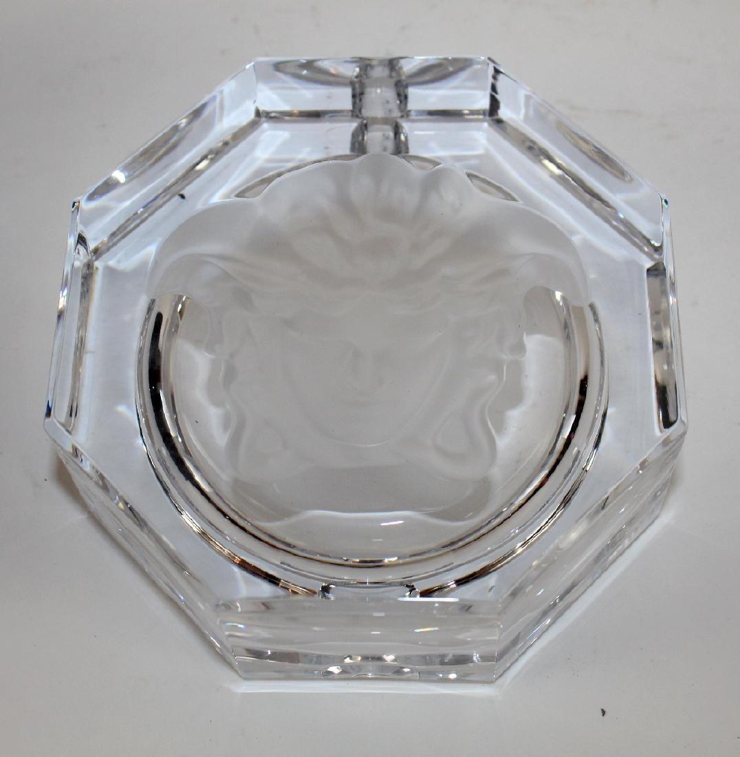 Rosenthal crystal Versace ashtray - 5