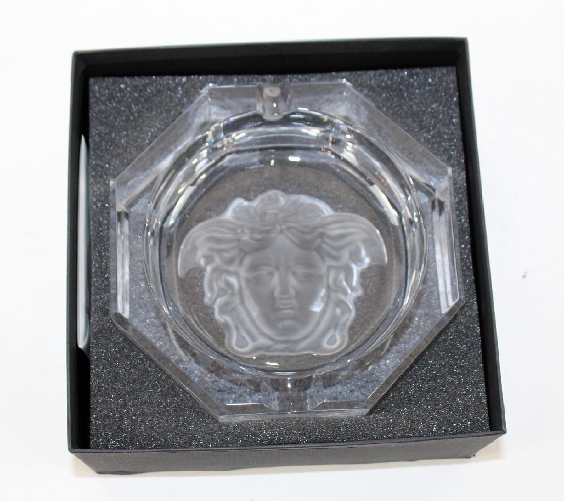 Rosenthal crystal Versace ashtray - 6