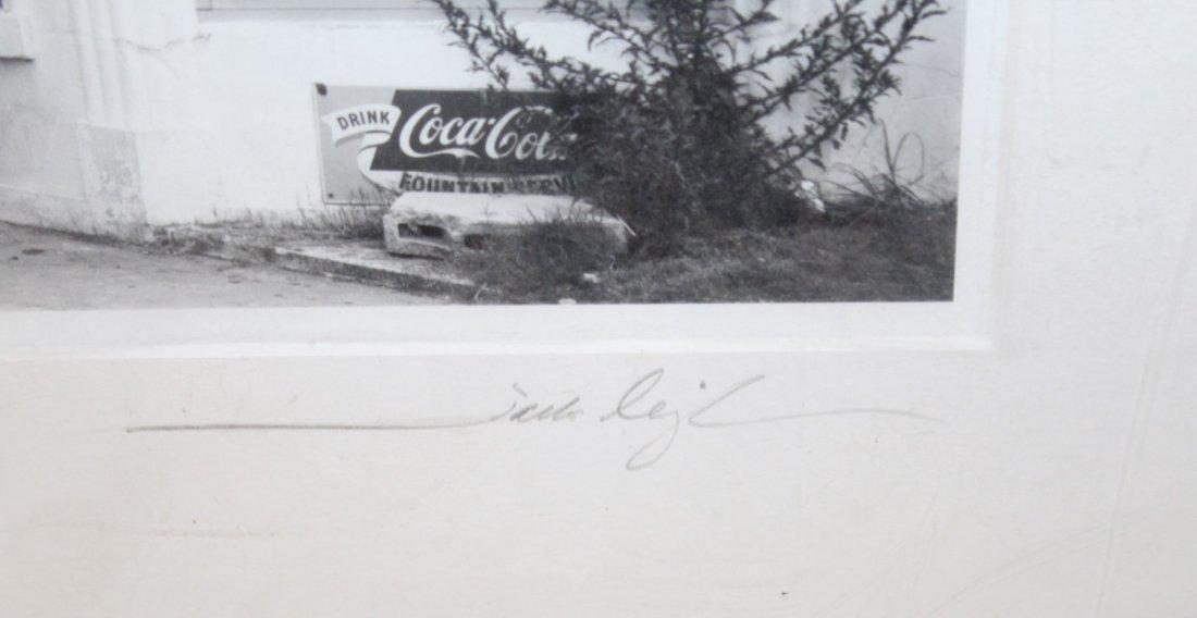Jack Leigh (1948-2004) black & white photograph - 6