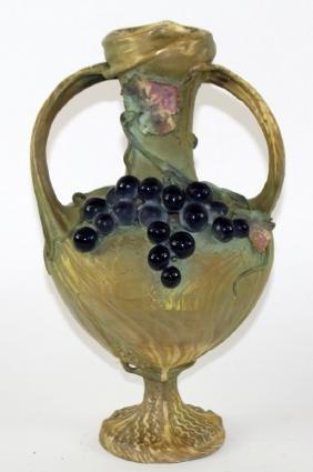 Austrian Art Nouveau Amphora vase