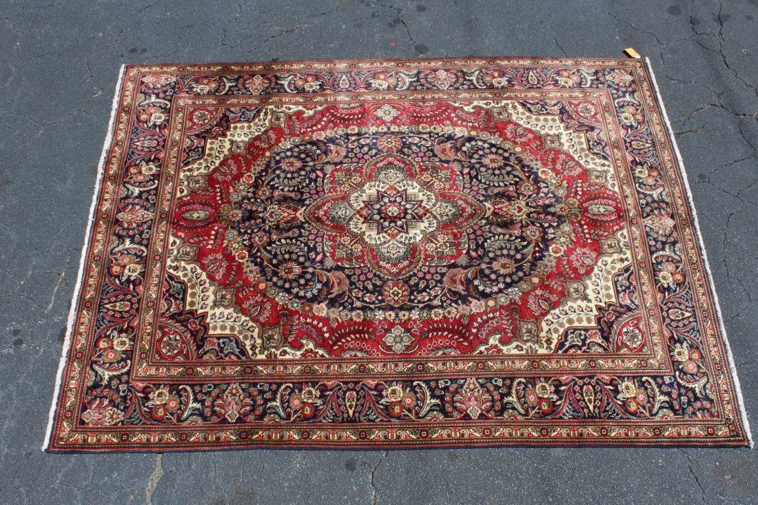 Persian wool Tabriz carpet