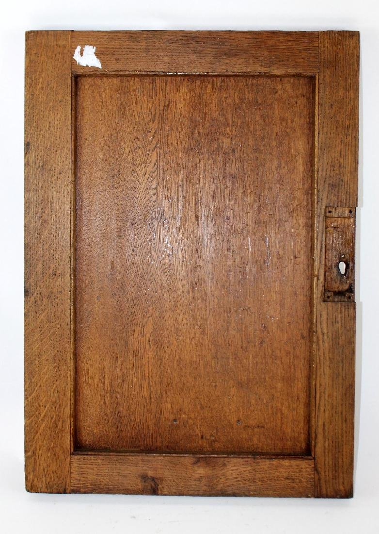 French relief carved oak panel - 2