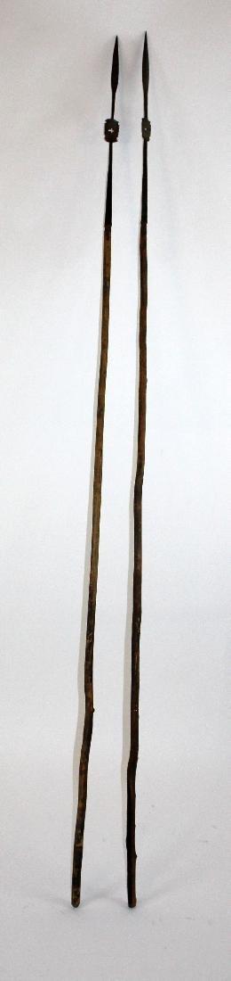 Lot of 2 Tribal spears