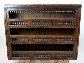 French Provincial wall mount plate rack