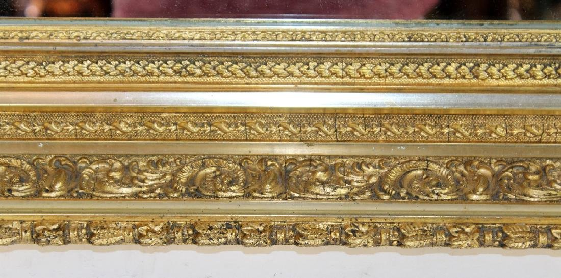 Early 20th century gold leaf mirror - 2