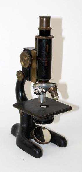 Bausch & Lomb optical company microscope