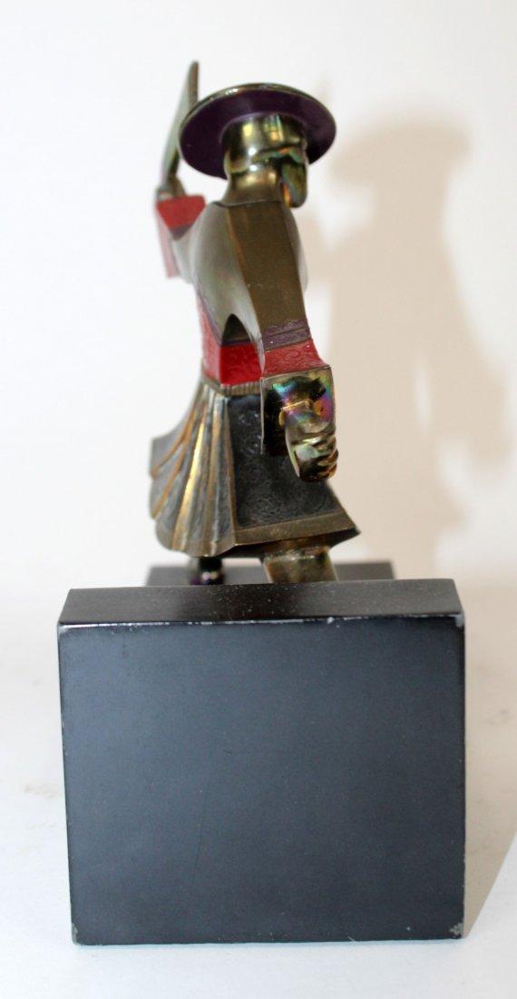 Ronson Japanese Samurai figurine - 3