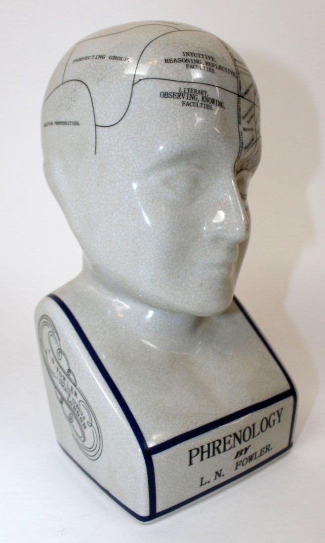 Ceramic Phrenology head - 4