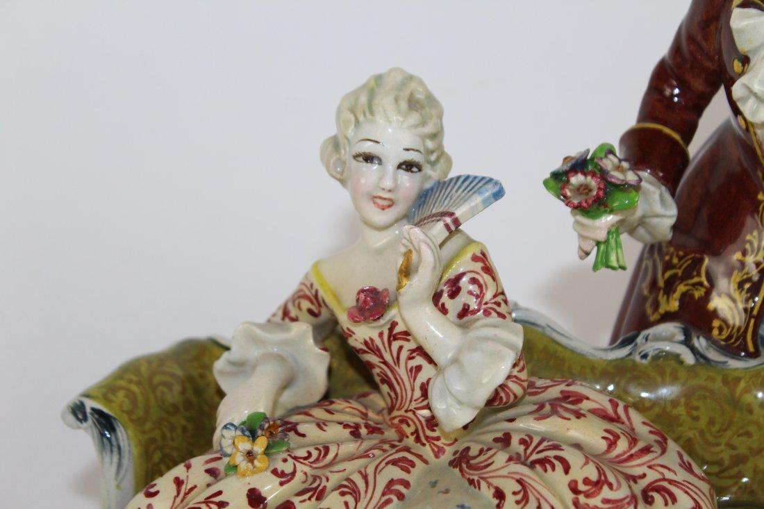 Italian porcelain figurine T. Sebelin - 2