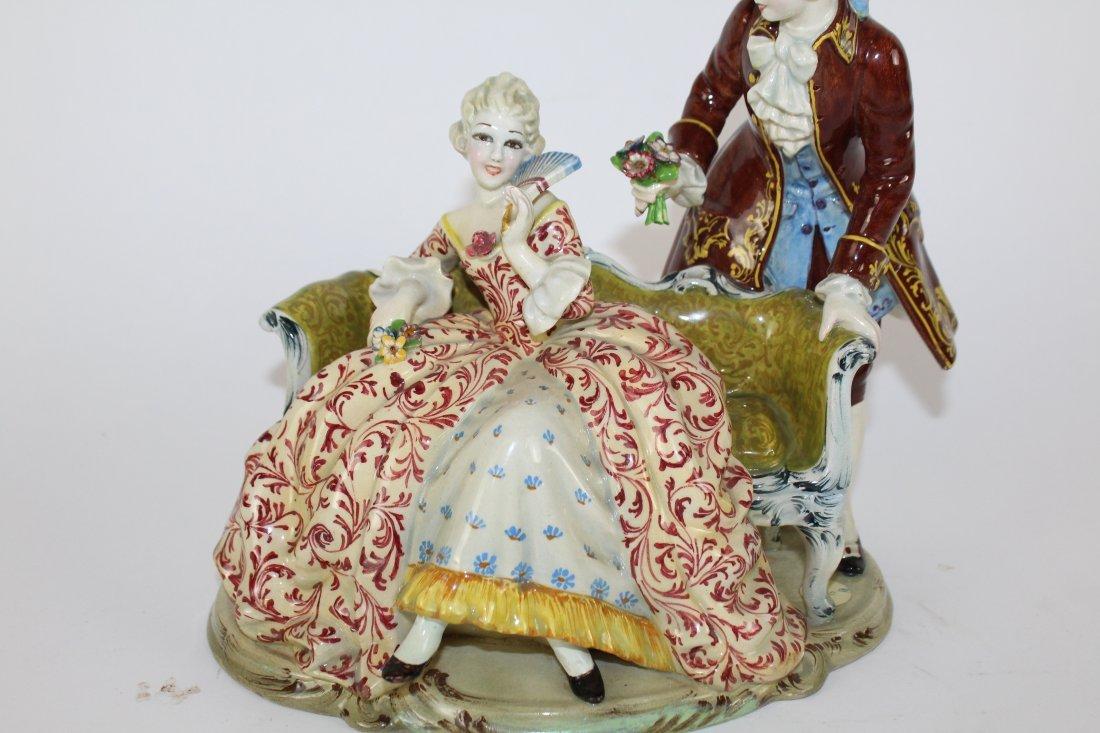 Italian porcelain figurine T. Sebelin - 4