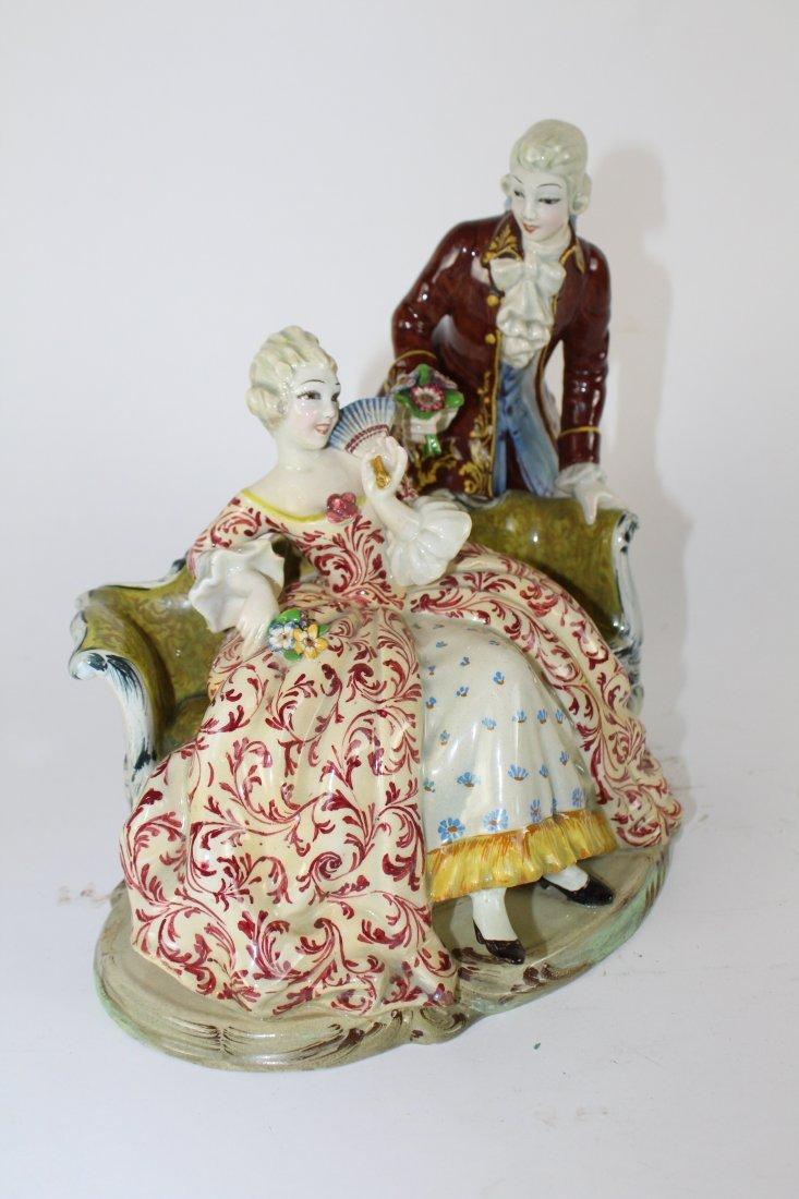 Italian porcelain figurine T. Sebelin - 5
