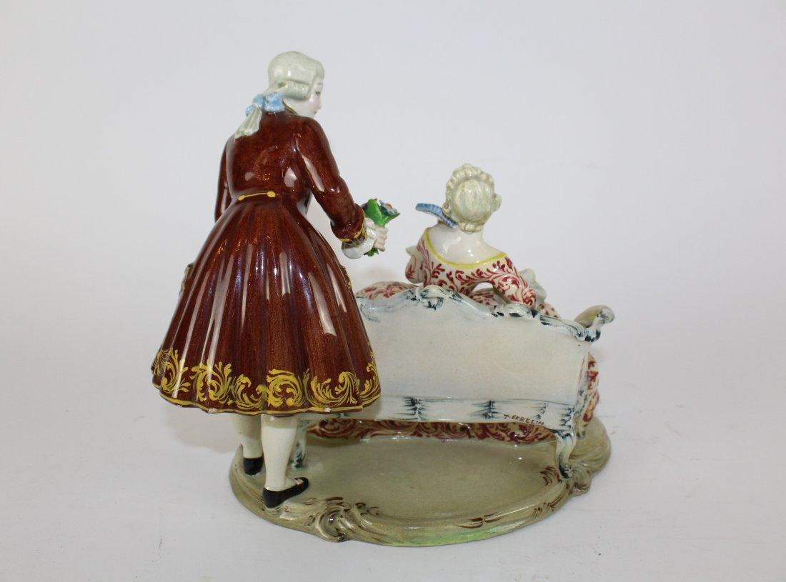 Italian porcelain figurine T. Sebelin - 6