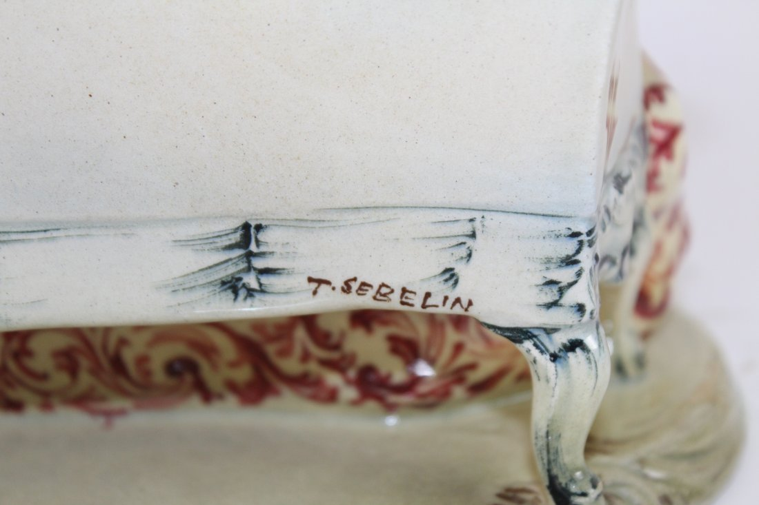 Italian porcelain figurine T. Sebelin - 7