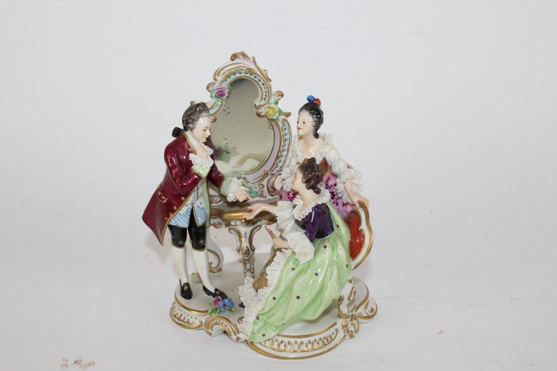 German porcelain figural grouping