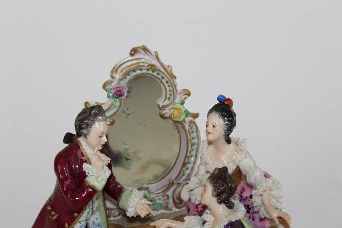 German porcelain figural grouping - 3