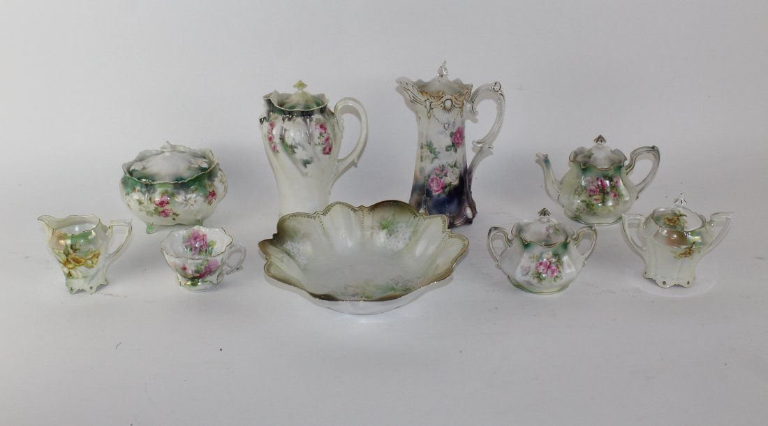 Grouping of RS Prussia porcelains