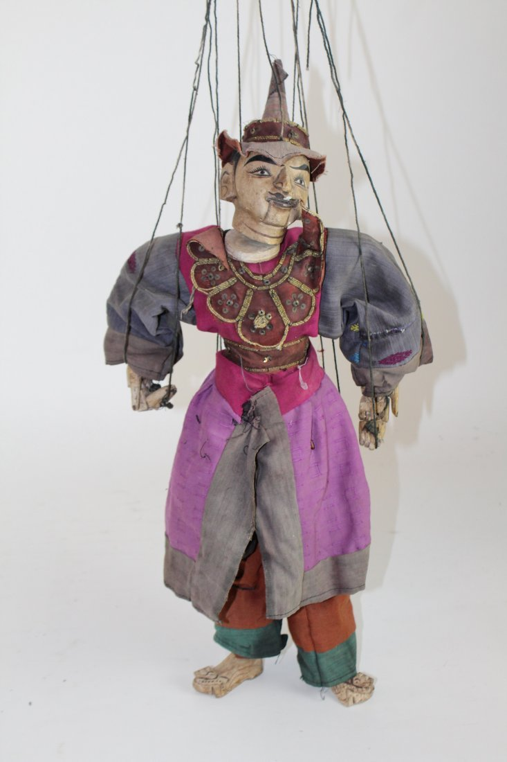 Indonesian marionette puppet