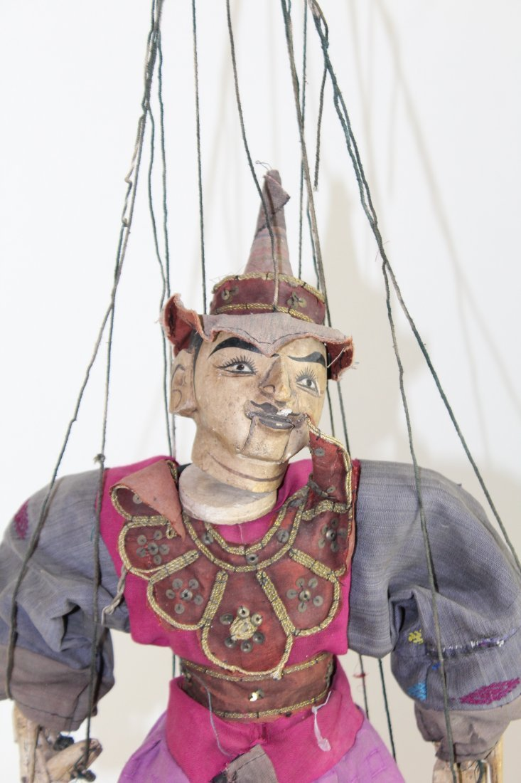 Indonesian marionette puppet - 2
