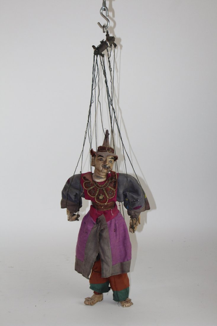Indonesian marionette puppet - 4