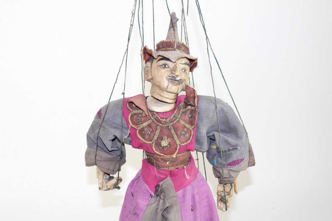 Indonesian marionette puppet - 5