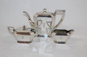 Gorham Fairfax sterling silver 3pc coffee service