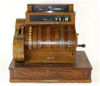 Antique National cash register model 852