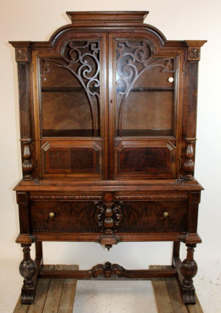 china cabinet in walnut
