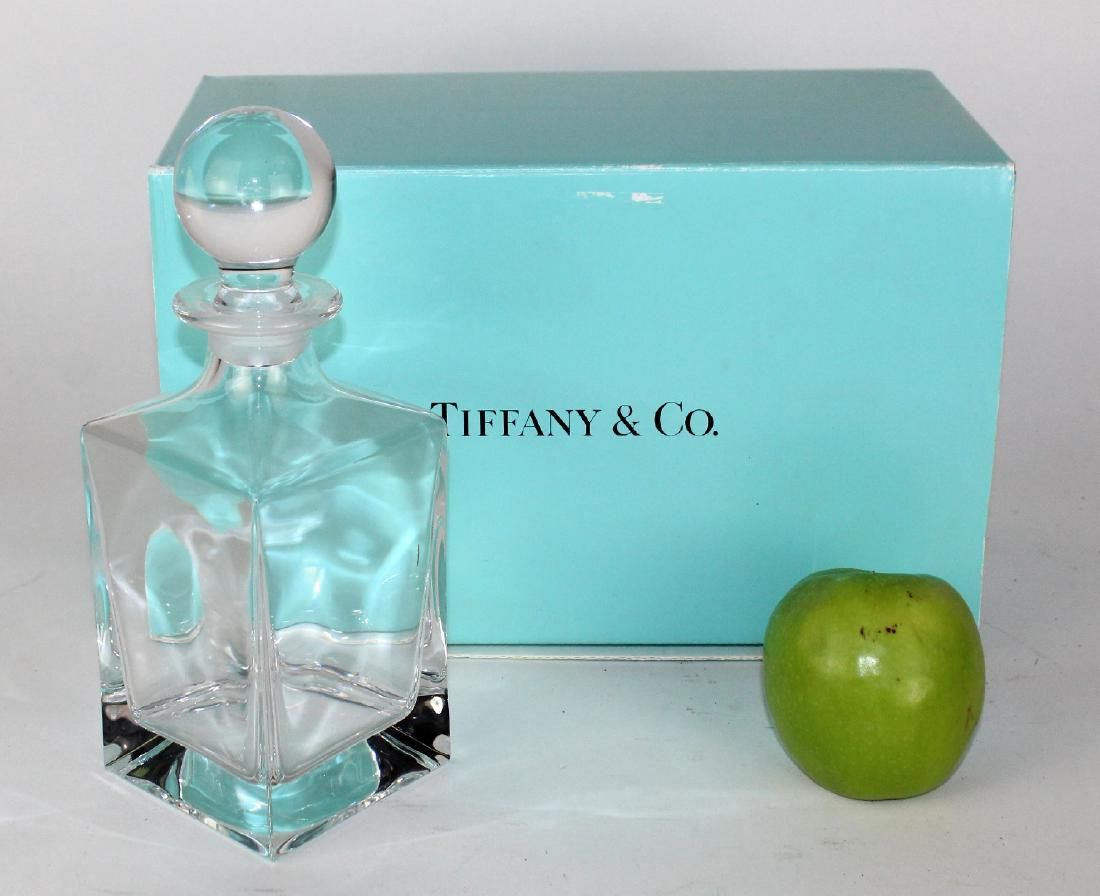 Tiffany & Co crystal decanter