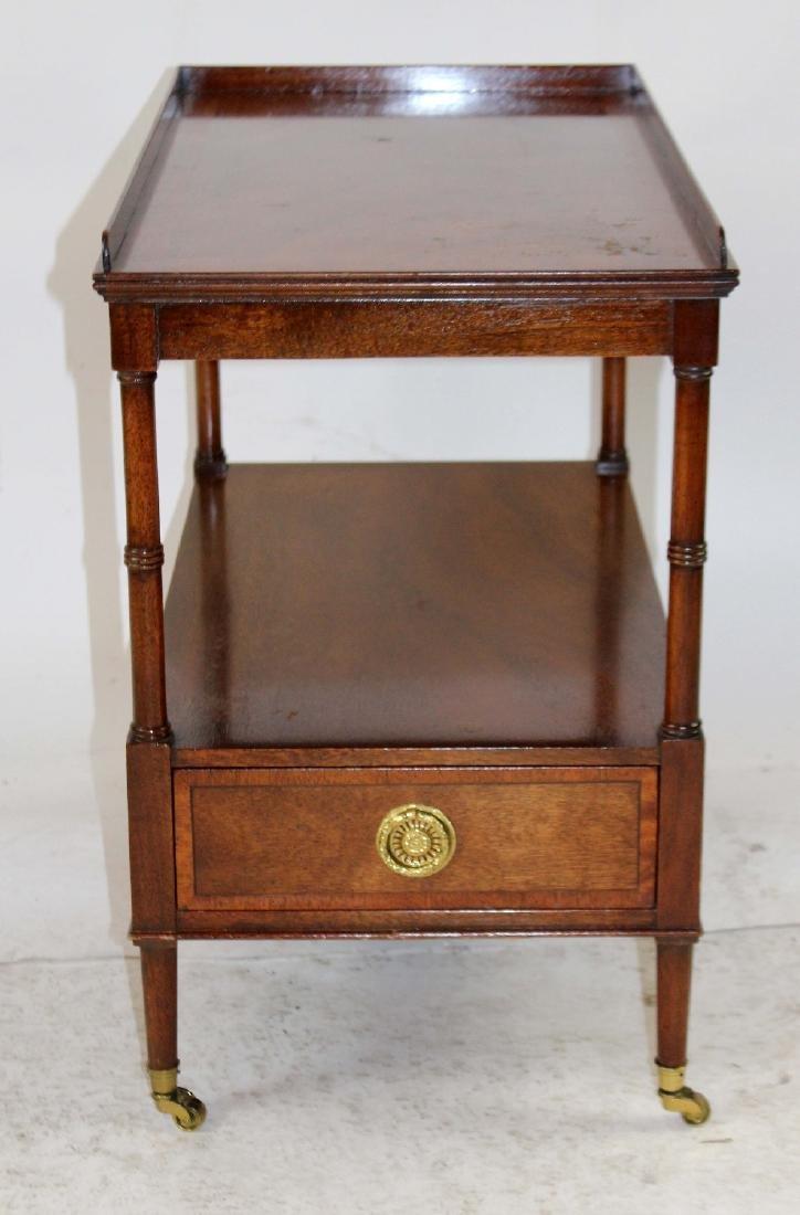 Vintage Baker tiered side table