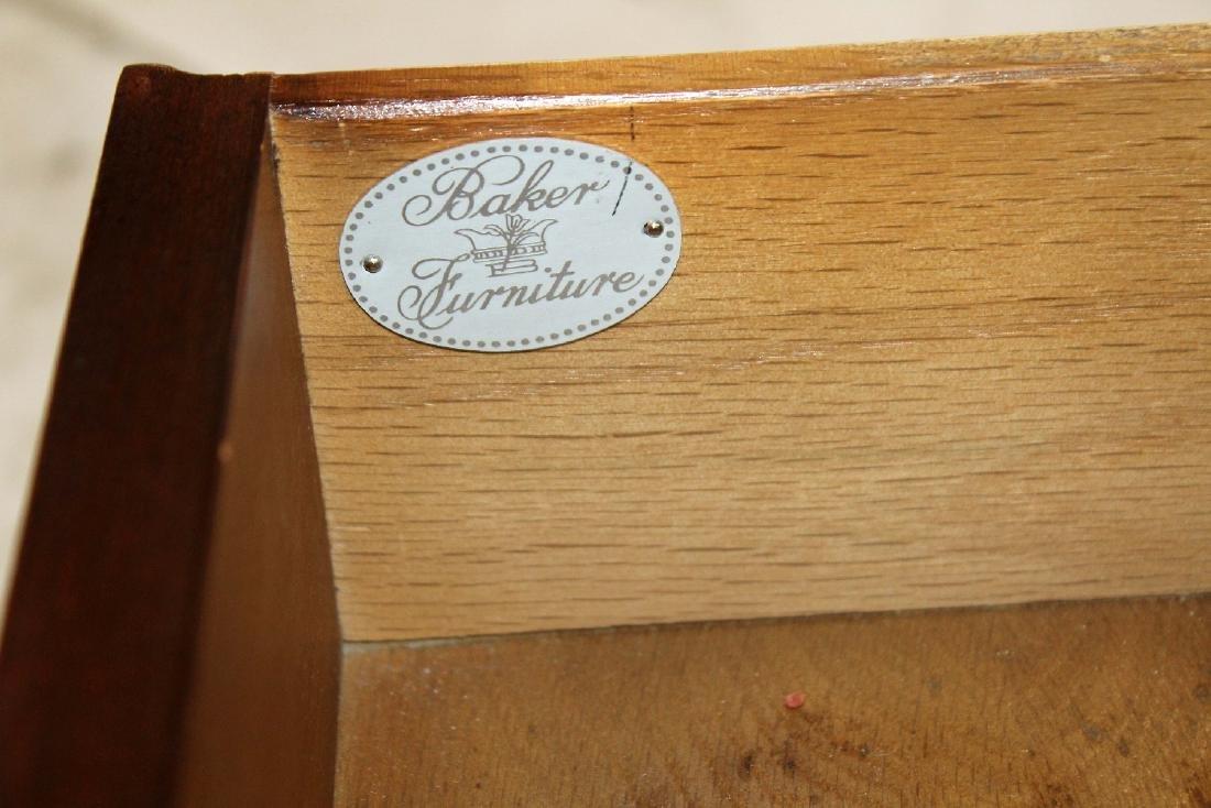 Vintage Baker tiered side table - 2