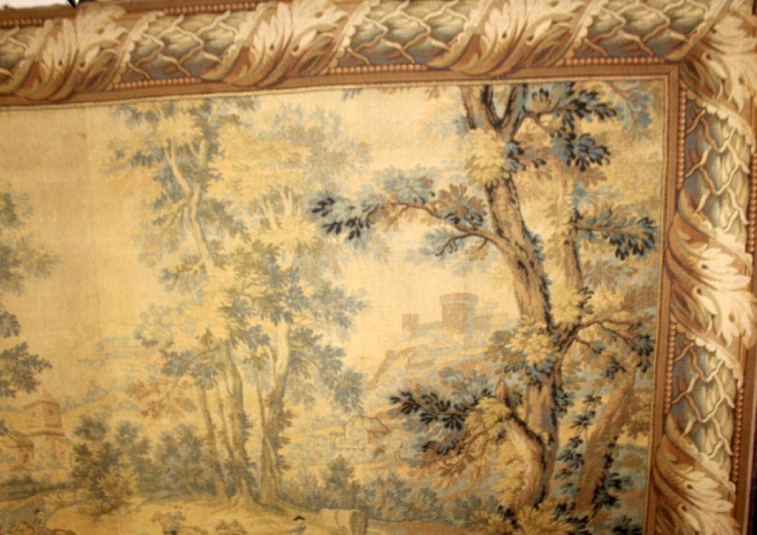 French Hunt scene tapestry - 4