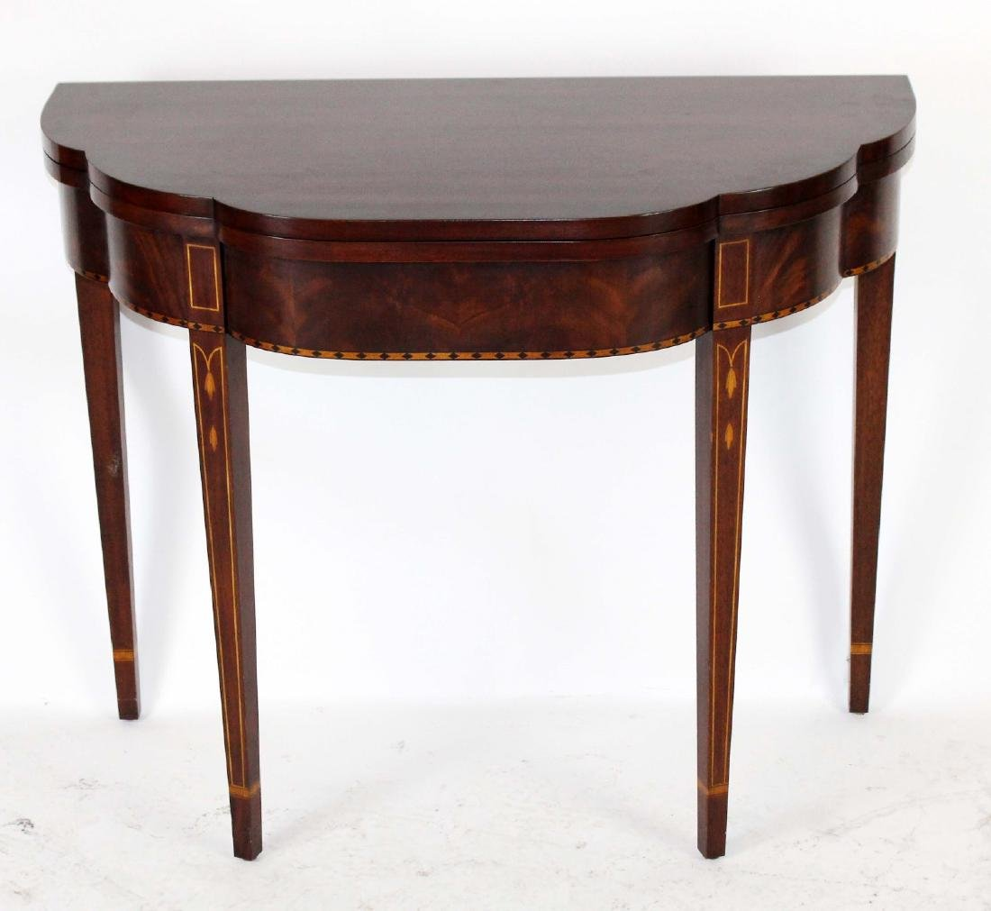 Henkel Harris flip top console table