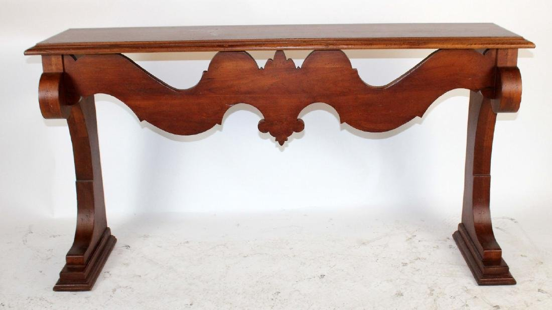Tuscan style console table