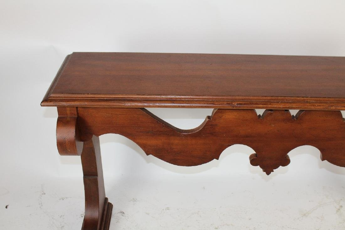 Tuscan style console table - 3