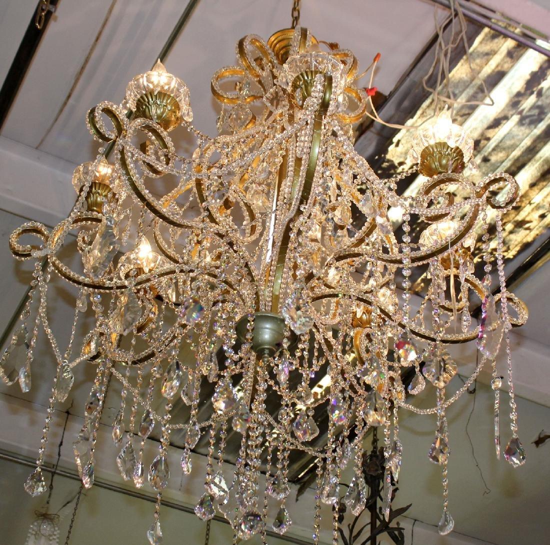 8 arm Venetian style chandelier - 2