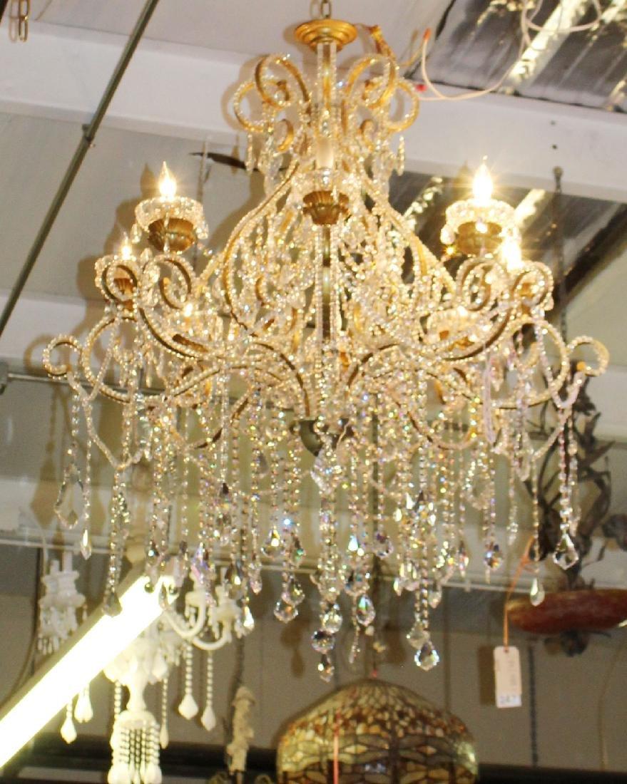 8 arm Venetian style chandelier - 3
