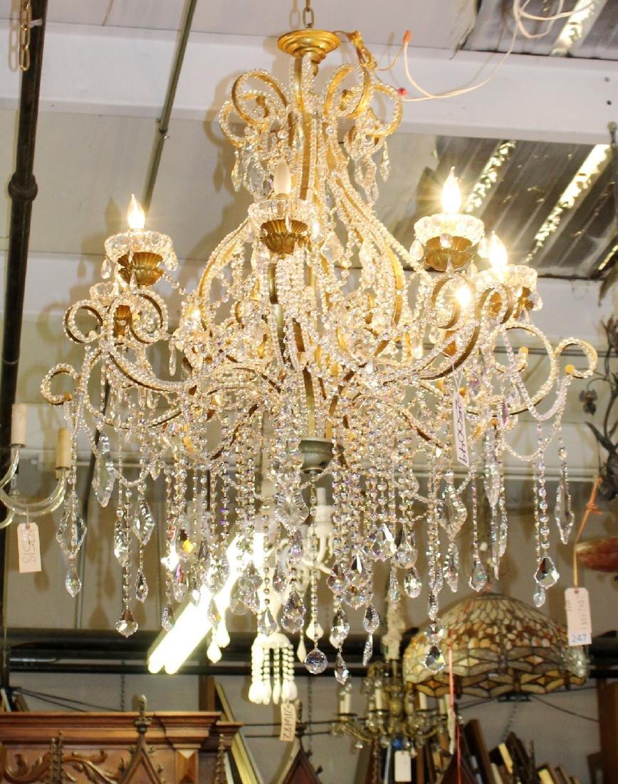 8 arm Venetian style chandelier - 4