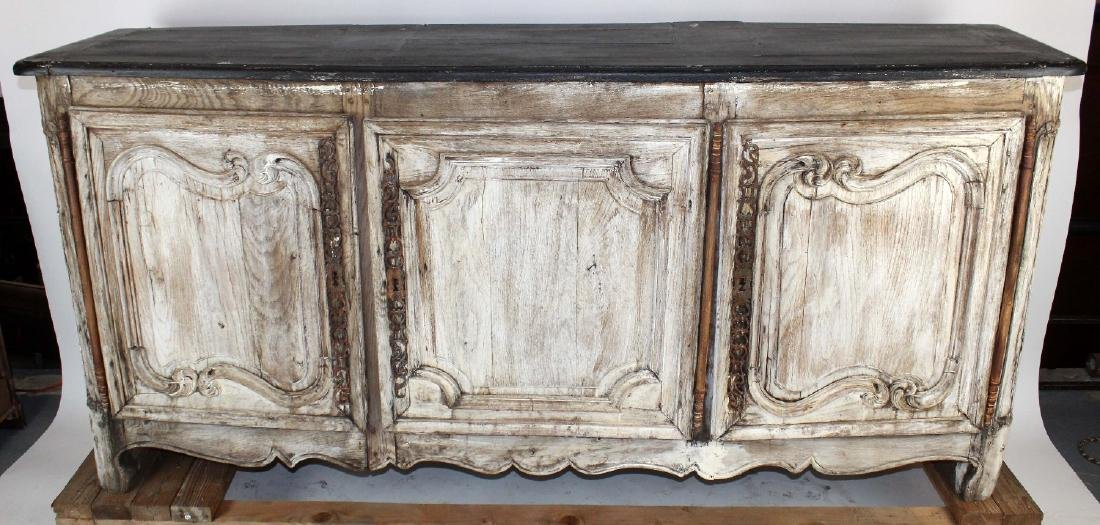 French painted Louis XV 3 door enfilade